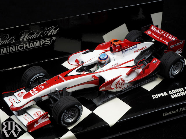 MINICHAMPS 1/43 Super Aguri F1 Team Showcar 2007 佐藤琢磨 Takuma Sato