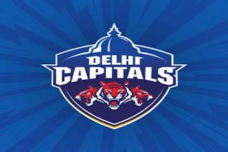 दिल्ली कैपिटल्स टीम लोगो Hindi365