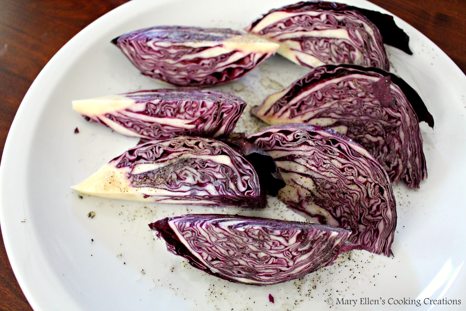 picked up a small head of red cabbage on a whim the other day. I ...