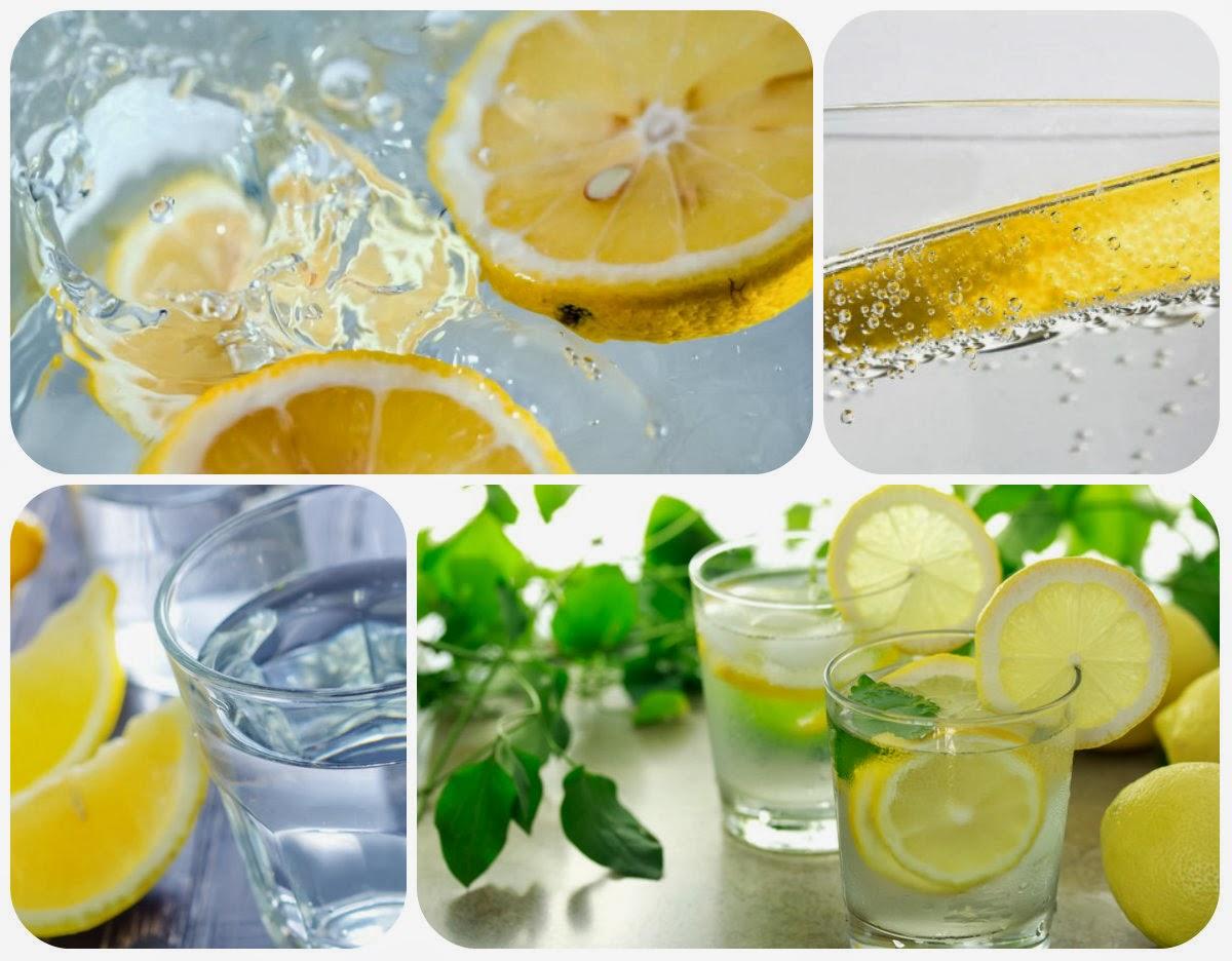 Szklanka wody z cytryną schudnąć forum