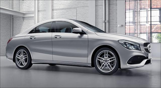 Mercedes CLA 250 2018 thiết kế thể thao mạnh mẽ