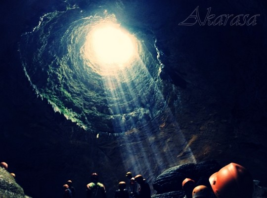 cahaya surga