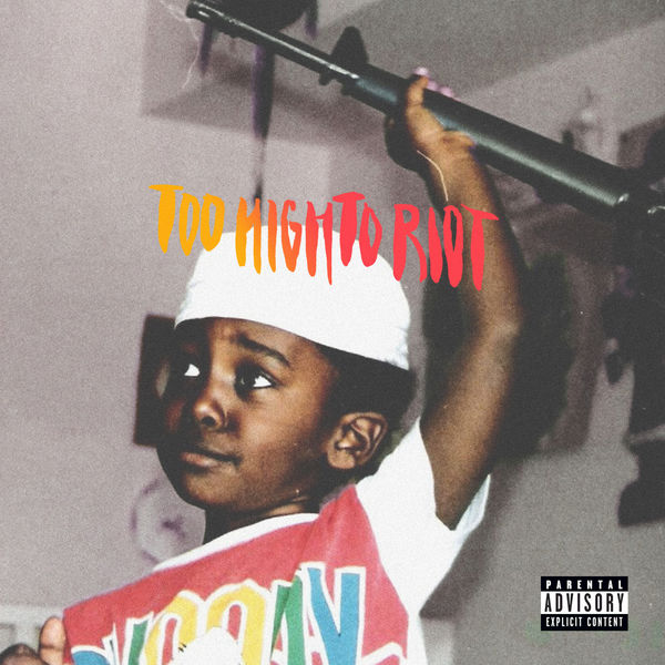 Bas - Too High to Riot Cover
