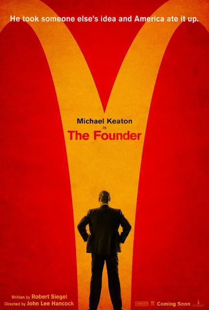 Nuevo póster de 'The founder', el origen de McDonald's