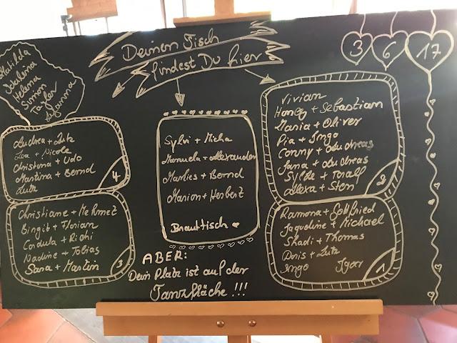 Tischplan Schiefertafel, Hochzeit in Apfelgrün und Weiß im Riessersee Hotel Garmisch-Partenkirchen, Hochzeitshotel in Bayern, heiraten in den Bergen am See