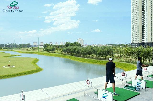 Sân Golf dự án The Link Ciputra