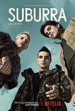 Suburra - Sangue em Roma Séries Torrent Download capa