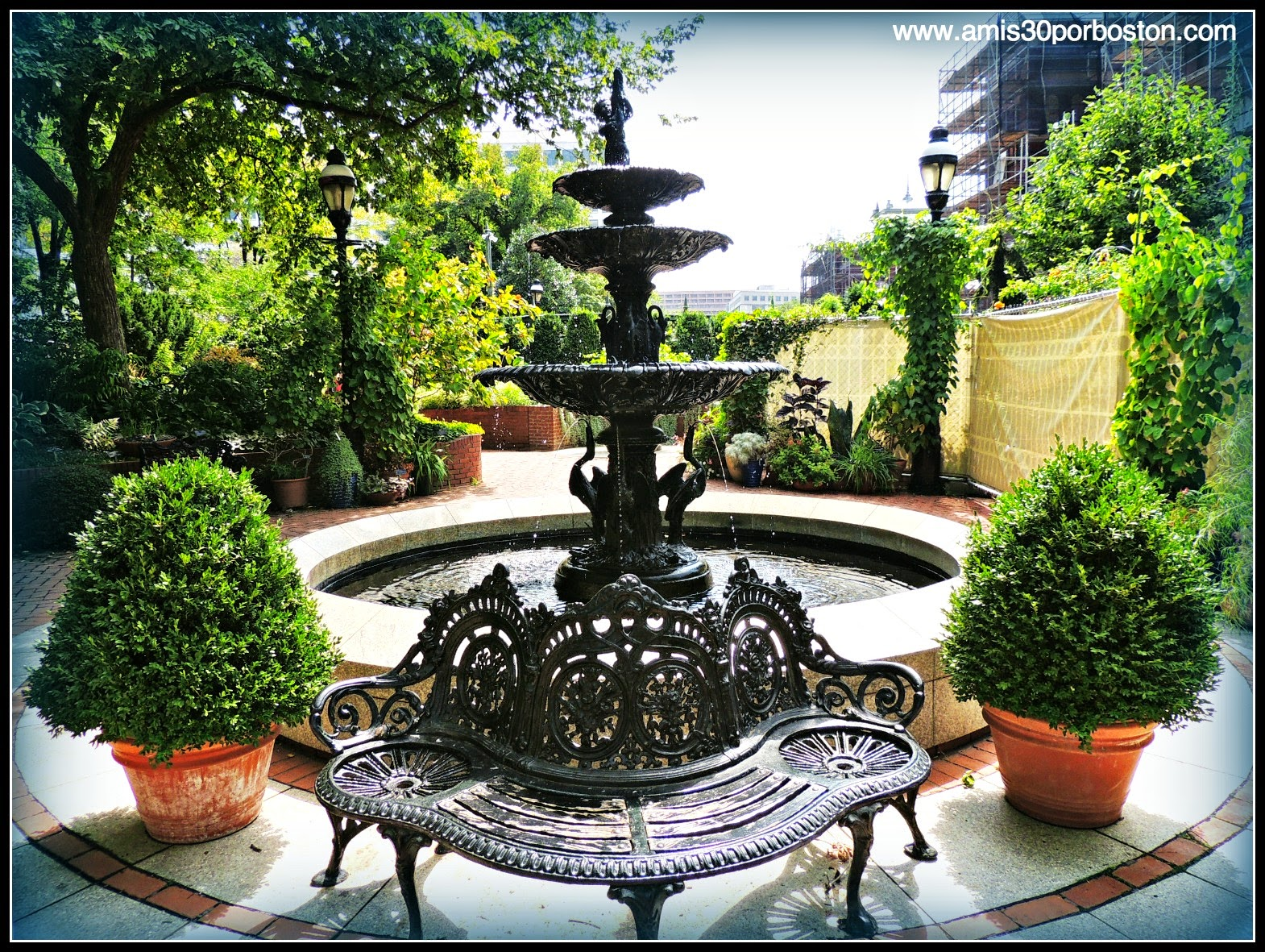 Jardín en el National Mall, Washington, D.C.