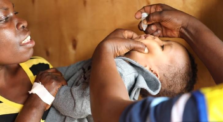 Polio vaccination Kenya