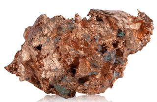 Pedazo de cobre