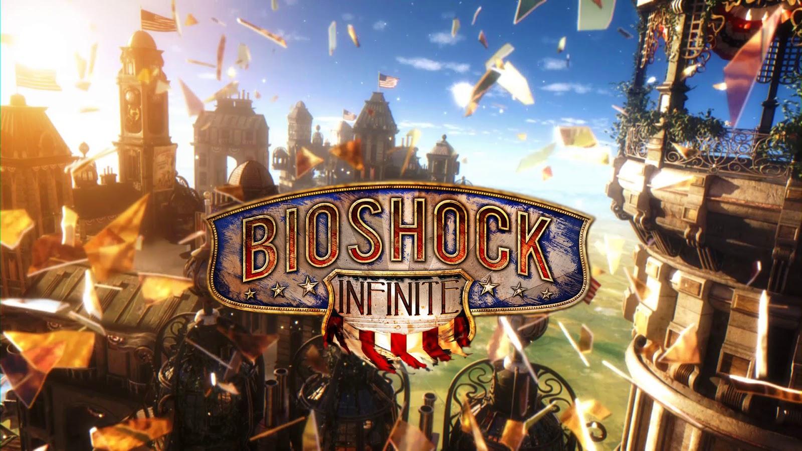 Bioshock Infinite bắt đầu với việc Booker DeWitt, 1 thám tử tư ở New York  bị mắc nợ do cờ bạc đã phải bán con mình, được 2 nhân vật bí ẩn ...