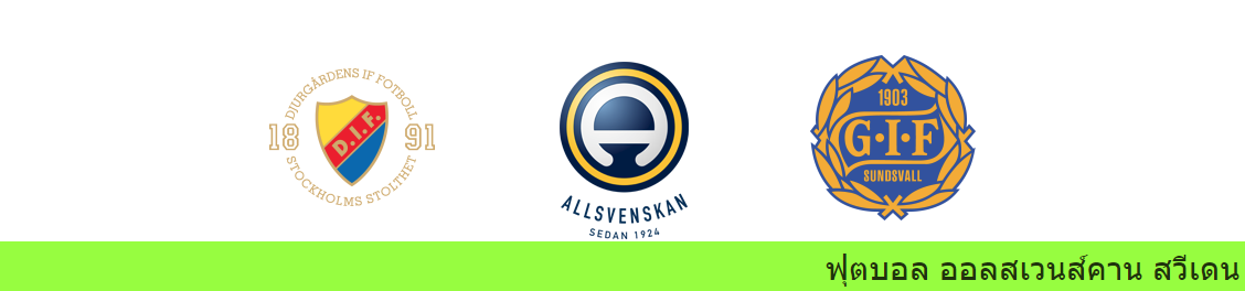 เว็บบอล วิเคราะห์บอล สวีเดน ระหว่าง เยอร์การ์เด้น vs ซุนด์สวัลล์