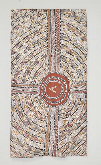 Dhambit Waṉambi | australian cool aboriginal art | bark paintings | yirrkala artists artworks