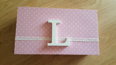 Fabric Covered Wooden Box