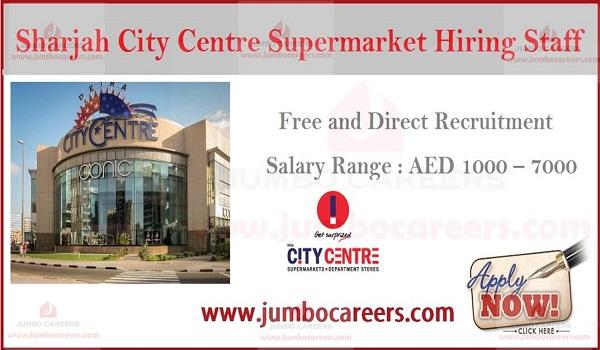 Latest Job Vacancies at Sharjah City Centre Supermarket by