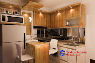Kitchen set-Studio-Aprtemen-Amethys-Kemayoran