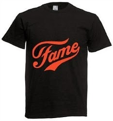 Retro Fame logo T-Shirt for men (choice of colours)