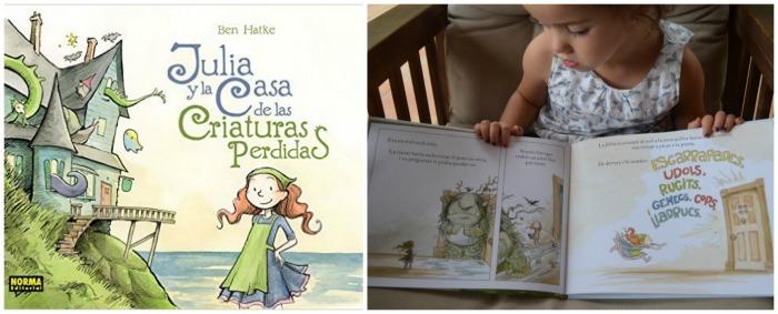 cuentos para enseñar valores niños: julia y la casa de las criaturas perdidas, responsabilidad, acogida, tolerancia