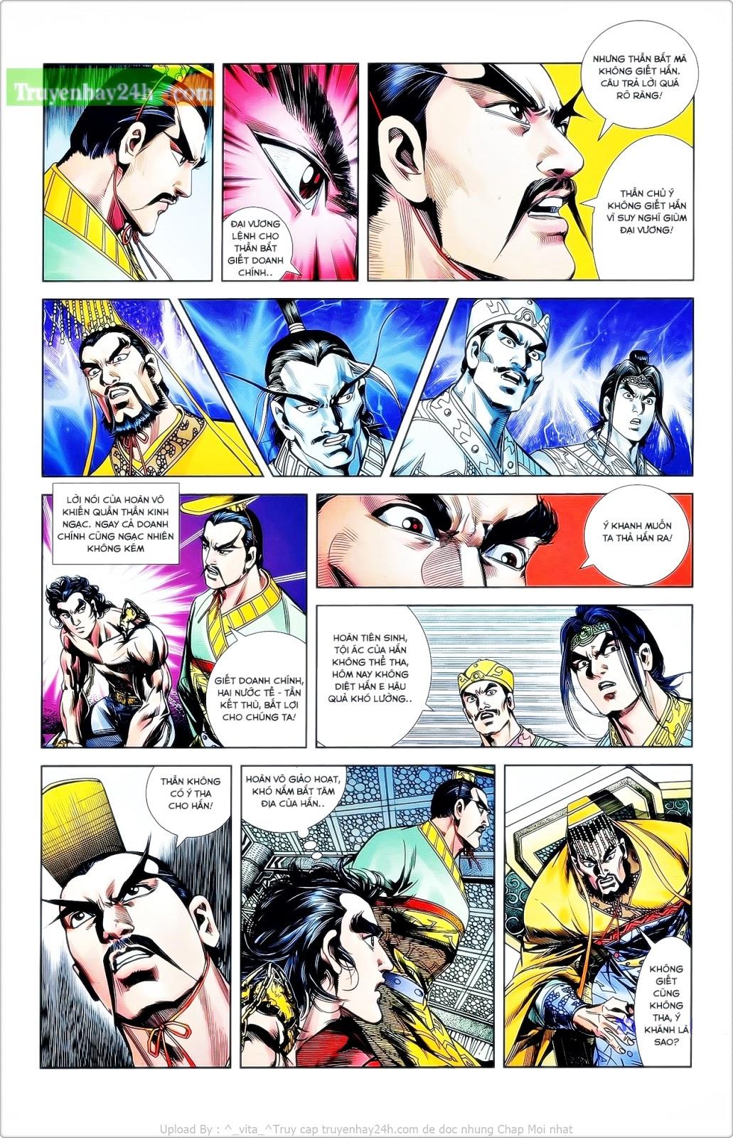 Tần Vương Doanh Chính chapter 24 trang 15