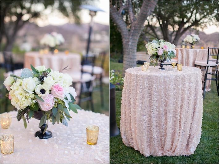 Elegant Blush Backyard Wedding