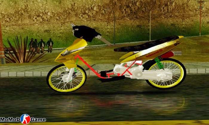 Mio Thailand Semi Drag Mod GTA San Andreas