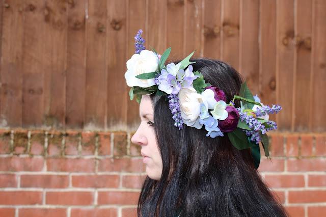 Women's Floral Headdress