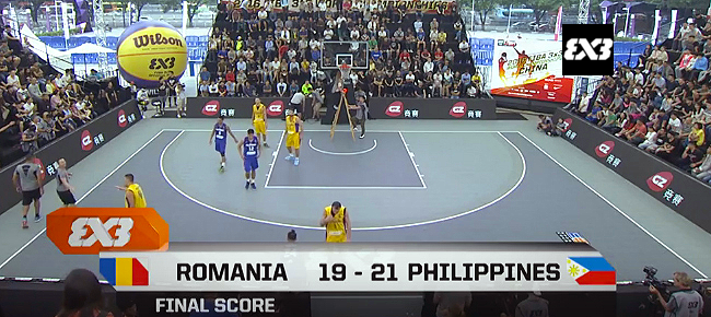 HIGHLIGHTS: Philippines vs. Romania (VIDEO) 2016 FIBA 3x3 World Championships