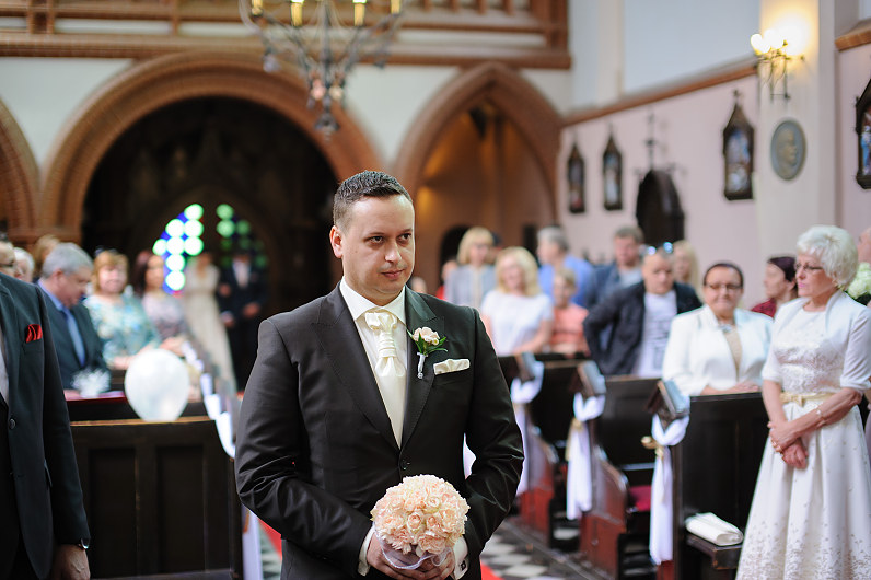Vestuvės šv. Onos bažnyčioje Vilniuje