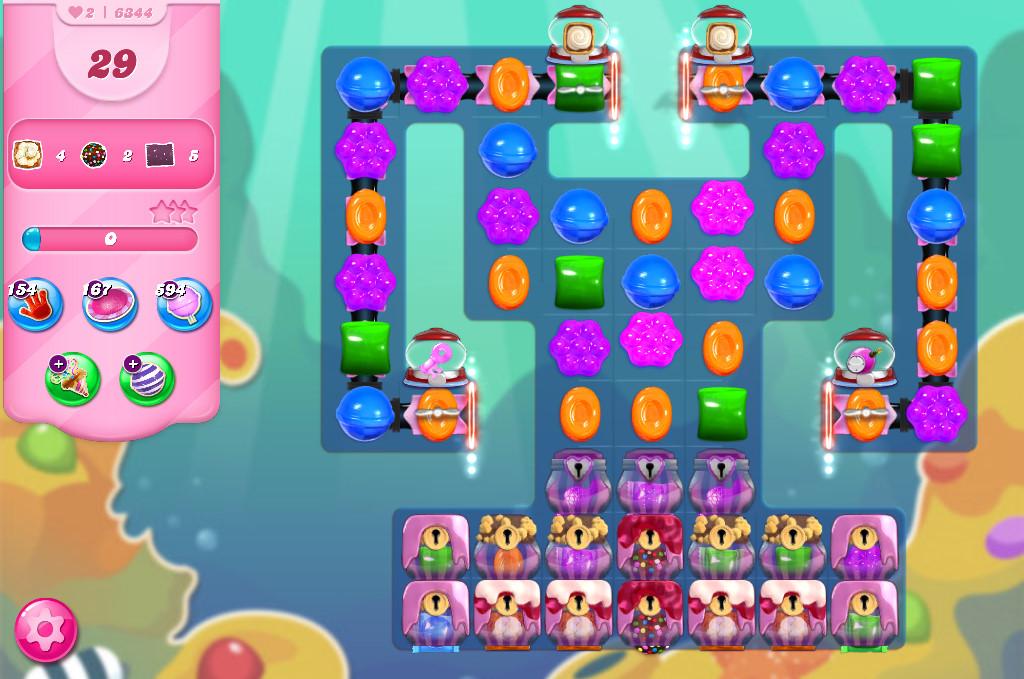 Candy Crush Saga level 6344