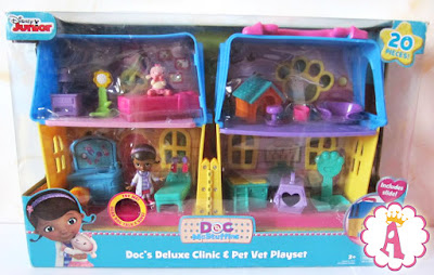 Набор доктор Плюшева Doc McStuffins Deluxe Clinic and Pet Vet House