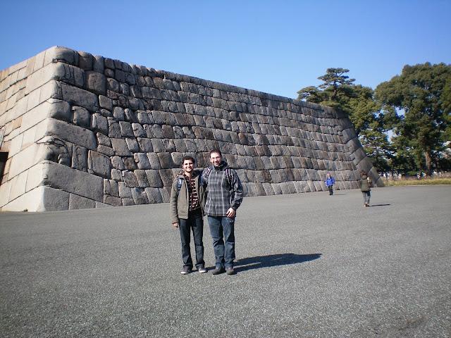 En los parques de palacio imperial de Tokio