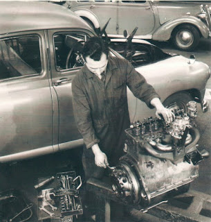 Standard Vanguard in Lambs Ltd workshop image 3