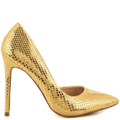 como restaurar zapatos dorados