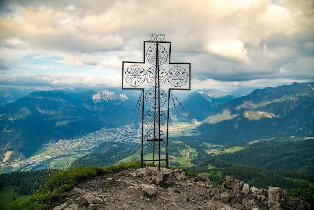 Wanderung auf die Mondspitze  Brandnertal Bürserberg  Wanderparkplatz Tschengla  Alpe Rona  Alpe Furkla 10
