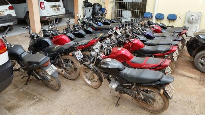 POLÍCIA: Delegacia Regional de Caxias apreende 8 motos roubadas na zona rural de Caxias