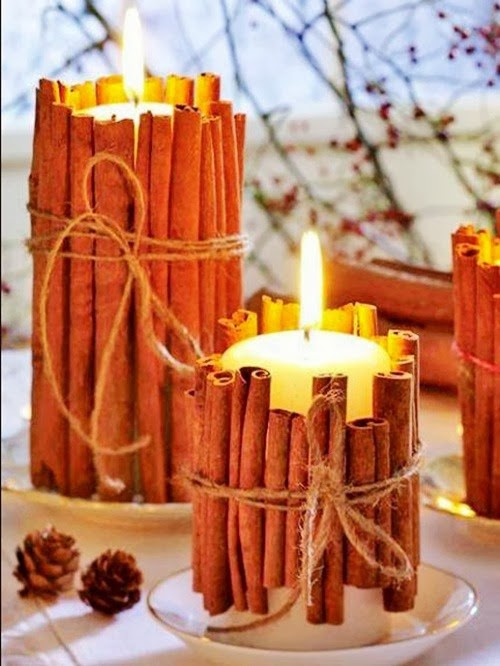 Beautiful christmas candles decoration ideas interior for Regali design