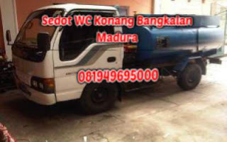 Sedot WC Konang Bangkalan Madura