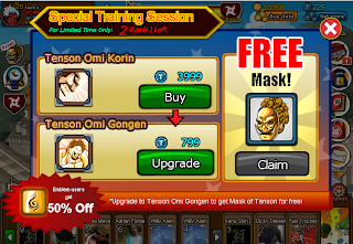 Cheat Ninja Saga Hairstyle Free User Permanent