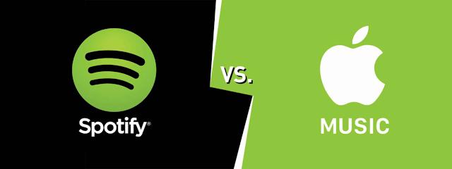 Cuộc chiến trên thị trường âm nhạc trực tuyến: Apple Music – Spotify