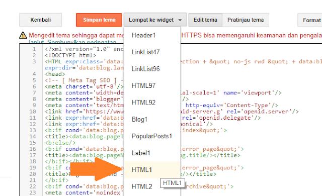 Lompat HTML