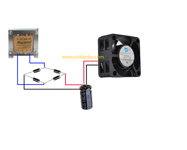 cara mengatasi suara bunyi kipas pada power ampli yang ikut masuk ke speaker.