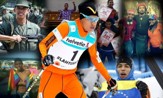 """La oscura historia detrás del """"esquiador"""" Adrián Solano (Video)"""