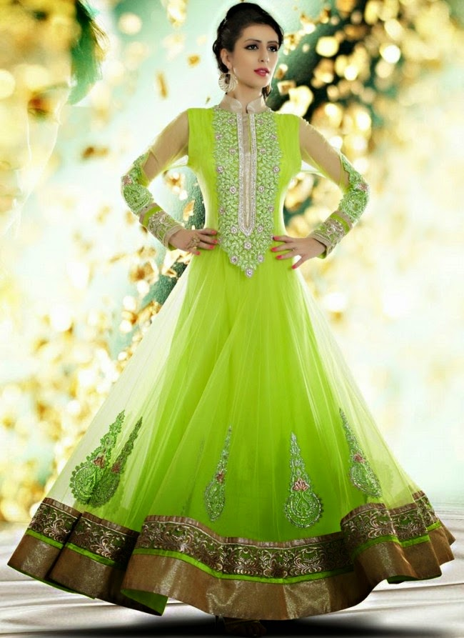 Fashion Mag Indian Royal Wedding Bridal Wear Long
