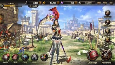 Wajib Dicoba! Daftar 12 Game MMORPG Android Terbaik 2018 - Heroes Of Incredible Tales