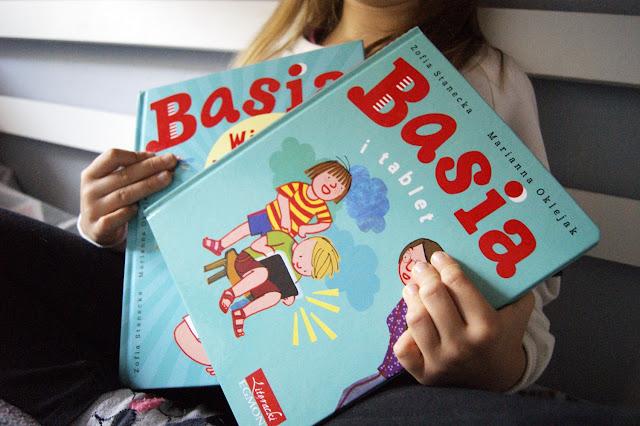 Basia i tablet oraz wielka księga słów. egmont