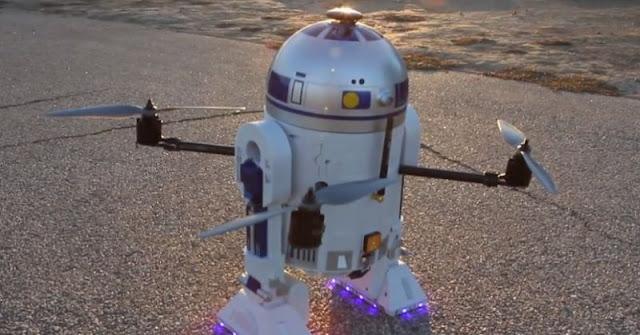 Wow, Drone Ini Mirip Sekali Dengan Robot Yang Ada Di Star Wars