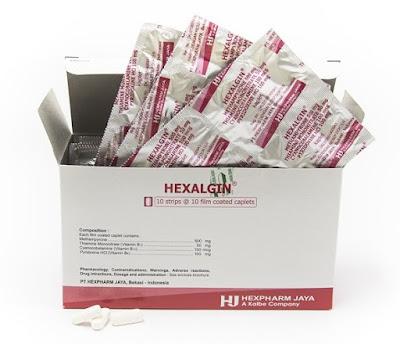 Hexalgin - Manfaat, Dosis, Efek Samping dan Harga
