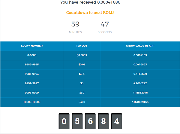 Gana Ripple (XRP) gratuitos con Coinfaucet Ruleta-xrp-coinfaucet
