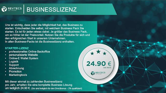 Revtecs Network Business Lizenz