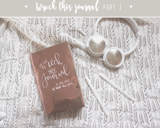 Wreck this journal kalandok #1